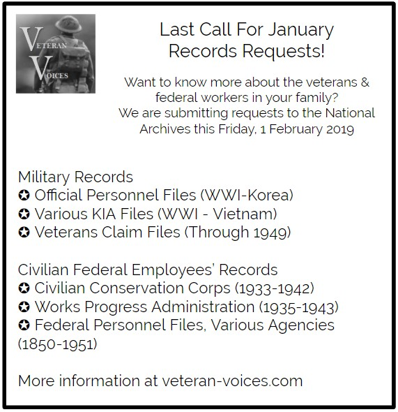 January 2019 Records Request